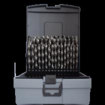 HSS-GS 41 részes köszörült  fémfúró készlet