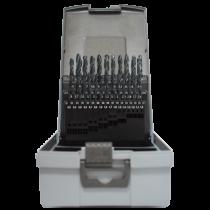 HSS-R 50 részes fémfúró készlet