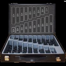 HSS-R 170 részes fémfúró készlet