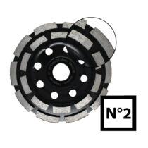 No. 2 Gyémántszemcsés betoncsiszoló különböző méretekben
