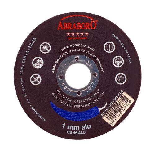 Chili fémvágó ALU premium korong többféle méretben és csomagban