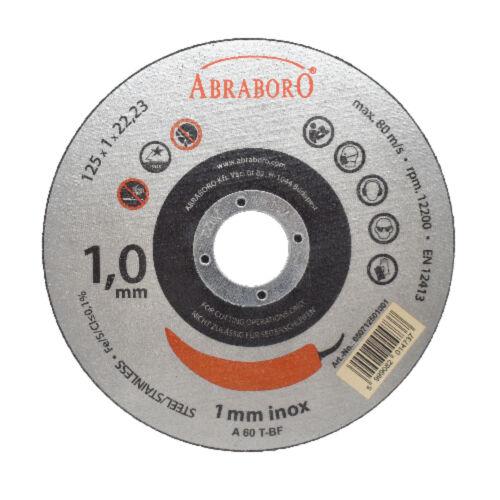 Chili fémvágó INOX korong többféle méretben és csomagban