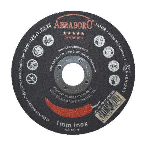 Chili INOX premium fémvágó korong többféle méretben és csomagban