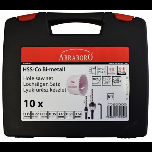HSS-CO lyukfűrész készlet vizes