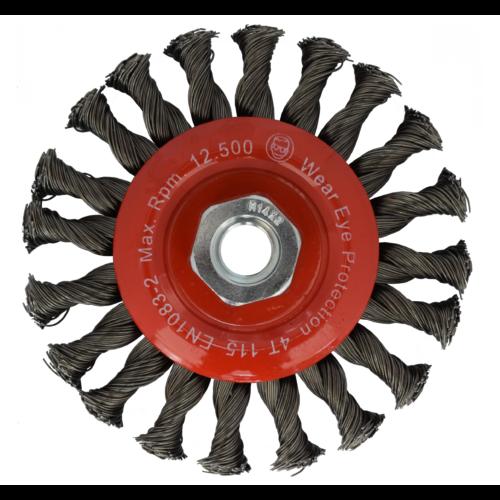 ULTRA körkefe D 115 mm 0,50 acéldrót