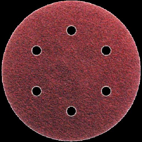 6 lyukú tépőzáras csiszolópapír D-150 különböző szemcsével