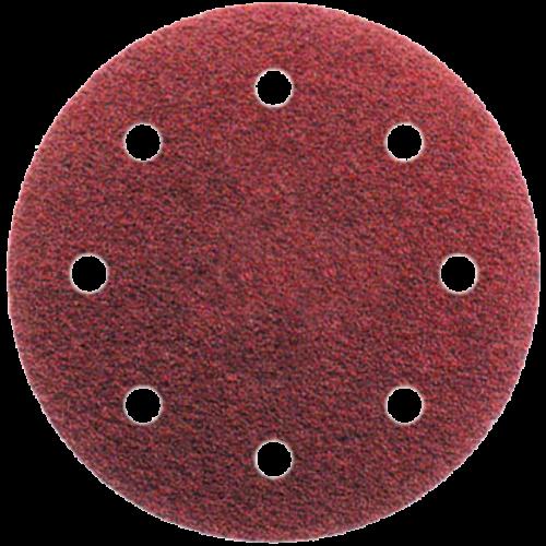 8 lyukú tépőzáras csiszolópapír D-125 különböző szemcsével